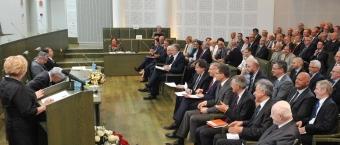 Adw. Rafał Dębowski, sekretarz NRA, wziął udział w Zgromadzeniu Ogólnym sędziów Sądu Najwyższego